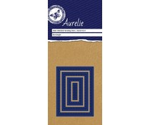 Aurelie Stitched Rectangle Mini Nesting Die (AUCD1031)