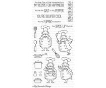 My Favorite Things Recipe For Happiness Clear Stamps (BB-30)