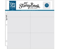 Echo Park 12x12 Inch Pocket Page - 4x6 Horizontal Pockets (10 Sheets) (MSBPP1203)