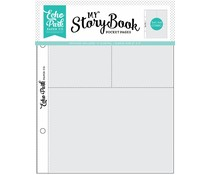 Echo Park 6x8 Inch Pocket Page - 4x6/3x4 Pockets (10 Sheets) (MSBPP604)