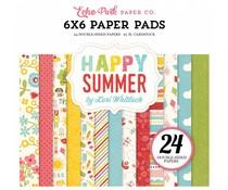 Echo Park Happy Summer 6x6 Inch Paper Pad (HS105023)