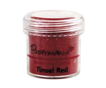 Papermania Embossing Powder (1oz) - Tinsel Red (PMA 4021013)