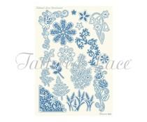 Parchment Lace Parchment Grid 4 Flowers (PLG004)