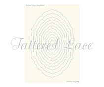 Parchment Lace Parchment Grid 8 Essentials Decorative Oval (PLG008)