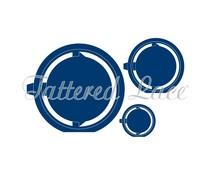 Tattered Lace Circle Accordion (ETL239)