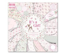 "First Edition 12""x12"" Pad - It's a Girl (FEPAD078)"