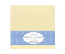 Dovecraft 10 Cream 6x6 Cards & Envelopes (DCCE027)