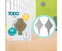 TODO Die Template Set Chandelier Bauble (370360)
