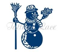 Tattered Lace Festive Snowman (ETL296)