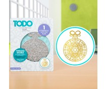 TODO Hot Foil Press Timeless Bauble (20993)