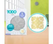 TODO Hot Foil Press All Over Snowflake & Foliage (20985)