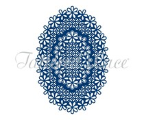 Tattered Lace Laced Edge Ovals (ETL361)