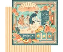 Graphic 45 Café Parisian 12x12 Inch 25 pc. (4501422)