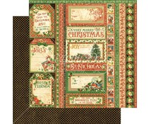 Graphic 45 Season's Greetings 12x12 Inch 25pc. (4501407)