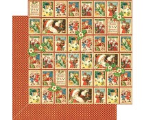 Graphic 45 Christmas Cheer 12x12 Inch 25 pc. (4501404)