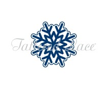 Tattered Lace Christmas Snowflake Gatefold Icon (EF170)