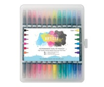 Docrafts Artiste Perkament Dual-tip pens (12pk) Thick & Thin (DOA 851304)