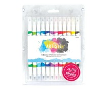 Docrafts Artiste Brush Markers (12pk) Brights (DOA 851100)