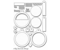 My Favorite Things Die-Namics Tag Builder Blueprints 6 (MFT-998)