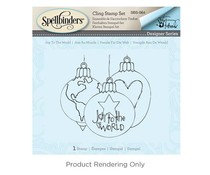 Spellbinders Joy to the World Cling Stamp Set (SBS-064)