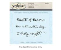 Spellbinders Breath Of Heaven Cling Stamp Set (SBS-057)