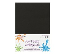 Dovecraft A4 Foam Multipack Black & Greys (DCFM001)