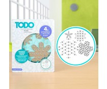 TODO Letterpress and Hot Foil Plate Modern Flower Stack (383626)
