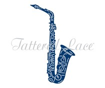 Tattered Lace Jazz Saxophone (ETL557)