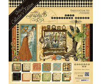 Graphic 45 Olde Curiosity Shoppe 12x12 Inch Deluxe Collectors Editon (4501517)