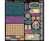 Graphic 45 Midnight Masquerade Stickers (4501554)