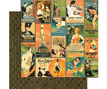 Graphic 45 Tinseltown 12x12 Inch 25pc. (4501528)