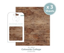 Craft Consortium Cotswolds Cottage Decoupage Papers (CCDECP295)