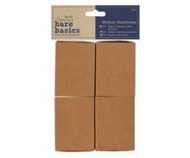 Papermania Bare Basics Medium Matchboxes (4 pcs) (PMA 174652)