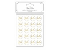 Craft Consortium Acetate Envelope Seal Stickers - Hello (AFSTKR004)