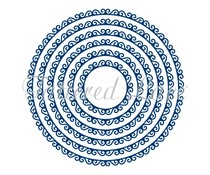 Tattered Lace Swirl Edge Circles (TLD0141)