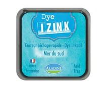 Aladine Inkpad Izink Dye Bleu Clair Mer Du Sud (19261)