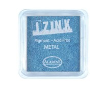 Aladine Inkpad Izink Pigment Metal Light Blue (19129)