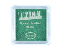 Aladine Inkpad Izink Pigment Metal Light Green (19131)