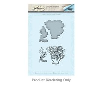 Spellbinders Teacup Stamp And Die Set (SDS-064)