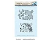 Spellbinders Feather and Beetles Stamp And Die Set (SDS-061)