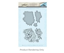 Spellbinders No Rain Stamp And Die Set (SDS-057)