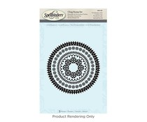 Spellbinders Circle Eloquence Stamps (SBS-091)
