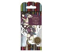 Gorjuss Collectable Mini Rubber Stamp No. 38 The Runaway (GOR 907418)