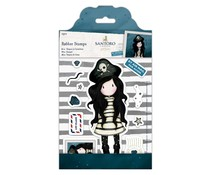 Gorjuss Large Rubber Stamps - Piracy (11pcs) (GOR 907130)