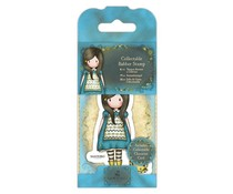 Gorjuss Collectable Mini Rubber Stamp No. 27 The Little Friend (GOR 907407)