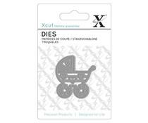 Xcut Mini Die (1pc) - Babys Pram (XCU 503078)