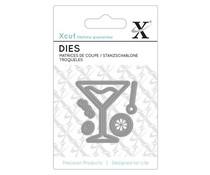 Xcut Mini Dies (5pcs) - Cocktail Glass (XCU 503039)