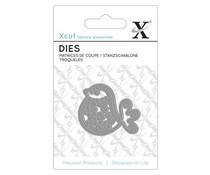 Xcut Mini Die (1pc) - Folk Bird (XCU 503025)