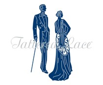 Tattered Lace Deco Couple (TLD0031)