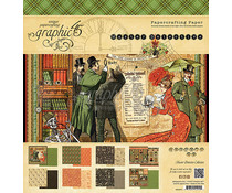 Graphic 45 Master Detective 12x12 Inch Paper Pad (4501571)
